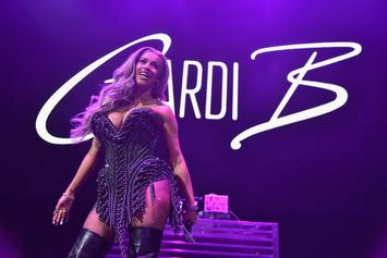 "Cardi B Gushes About ""Finesse"" Remix Success, Thanks Fans For Their Support"