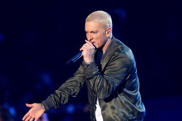 "Eminem Gets Ninth Number One Single In The U.K. With ""River"""
