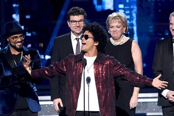 Bruno Mars Wins Album Of The Year at 2018 Grammys