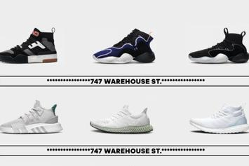 Adidas Announces Exclusive Sneaker Lineup For NBA All-Star Weekend