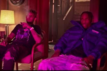 "Travis Scott & Smokepurpp's ""Fingers Blue"" Video Is Here"