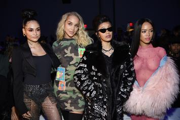 Cardi B & Kehlani Style On Em At Jeremy Scott Fashion Show