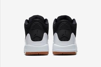 Black/Gum Air Jordan 3 Official Images Revealed