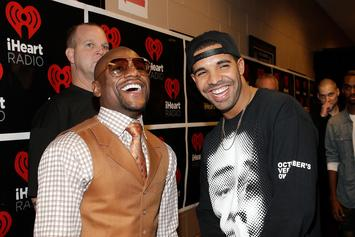Drake Hits The Roller Rink For Floyd Mayweather's 41st Birthday