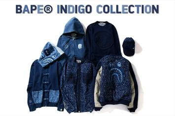 BAPE Debuts Its Stacked Indigo Collection