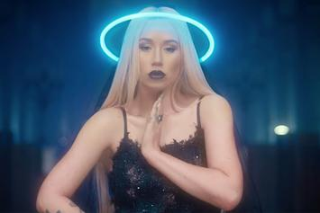 """Iggy Azalea Takes Over A Neon-Filled Church In New Video For """"Savior"""" With Quavo"""