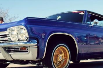 "Curren$y Comes Through In The Low Rider For ""Billy Ocean"""