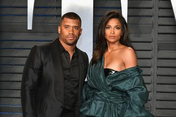 """Baby Future Asks Russell Wilson For A """"Papa Kiss"""" In New Video Shared By Ciara"""