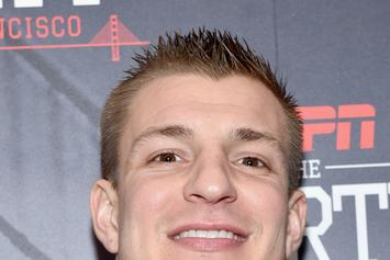 "Watch Rob Gronkowski Try To Freestyle Over Biggie's ""Hypnotize"""