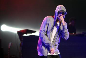 """Eminem Shares Behind The Scenes Footage Of """"River"""" Video"""