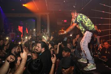 """Travi$ Scott & The Weekend Performed """"Antidote"""" Together In Houston Last Night"""