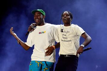 "ASAP Rocky Continues ""Testing,"" Tyler The Creator Trolls Him"