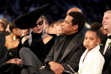 Beyoncé Honored By Michelle Obama, Blue Ivy Bids Big At Wearable Art Gala