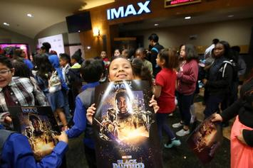 """Black Panther"" Spends Fifth Consecutive Week at No. 1"