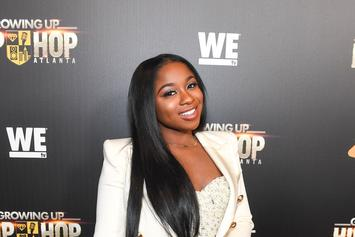 Reginae Carter & YFN Lucci Post Up At Club Together