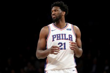 Joel Embiid Trolls Colin Cowherd After Sixers' 40th Win