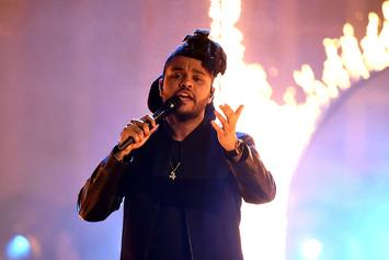 The Weeknd's New Album Is Nearly Complete