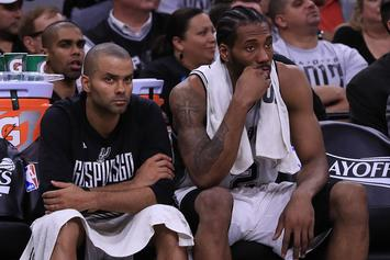 "Tony Parker: My Injury Was ""100 Times Worse"" Than Kawhi Leonard's"
