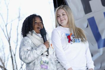 MLK Jr.'s 9-Year Old Granddaughter Speaks at March For Our Lives Rally