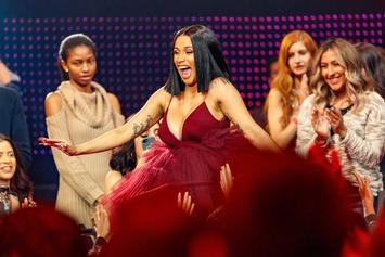 """Cardi B Applauds """"Finesse"""" Filter On Snapchat"""