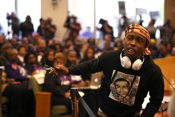 Stephon Clark's Brother Interrupts Sacramento Council Meeting To Demand Justice