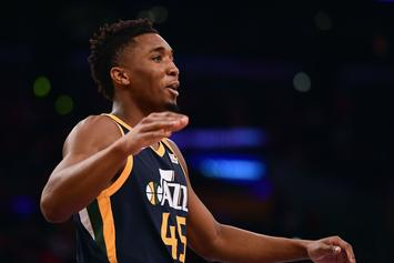 Jazz Rookie Donovan Mitchell Breaks Greg Monroe's Ankles