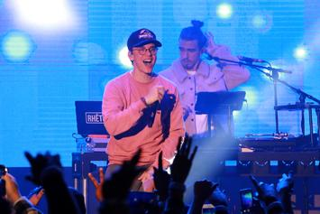 """Logic Challenges Drake To Fortnite While Performing """"Everyday"""" On """"Ellen Show"""""""