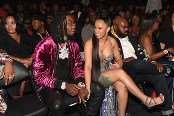 Cardi B Taken By Surprise As Offset Flies In Her Dominican Family