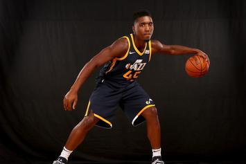Donovan Mitchell Explains Why He's The True Rookie Of The Year