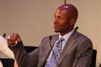 "Ray Allen Shows Off Rare ""Celtics"" Air Jordan 11 PE"