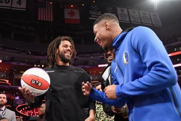 J. Cole Delivers Fiery Verse For NBA On ESPN Playoff Promo