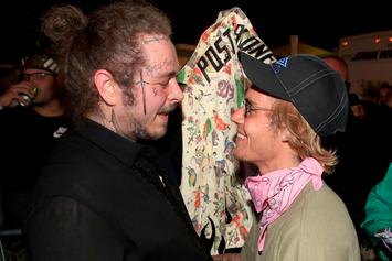 Post Malone Plays Piano With Justin Bieber During Post-Coachella Lovefest