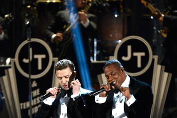 "Watch Jay Z & Justin Timberlake's ""Holy Grail"" Video"