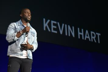 Kevin Hart & Michael Blackson Squash Their Beef At 76ers Playoff Game