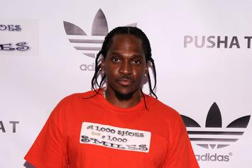 "First Week Sales Projections For Pusha T's ""My Name Is My Name"""