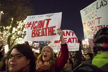 Eric Garner's Death Still  Being Reviewed By Top Justice Department Officials