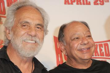 """Cheech & Chong Were Completely Sober When They Filmed """"Up In Smoke"""""""