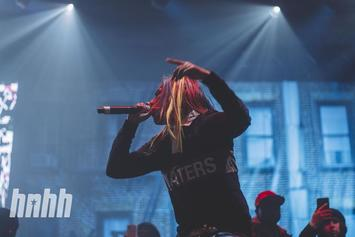 Footage Of Cops Questioning Tekashi 6ix9ine & Crew After Barclays Incident Surfaces