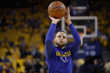 Warriors Give Update On Steph Curry's Status For Game 2
