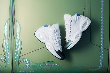 """Curren$y x Reebok Question Mid """"Jet Life"""" Revealed In Detail"""