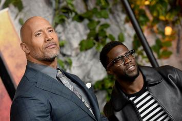 Kevin Hart & Dwayne Johnson's Baby Picture Feud Is The Best Thing On Instagram