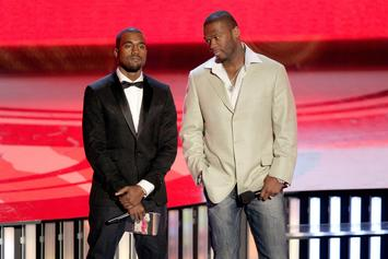 50 Cent Roasts Kanye West For Getting Liposuction