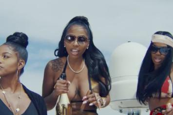 """Kash Doll Grabs Her Ladies For A Yacht Party In """"Check"""" Video"""