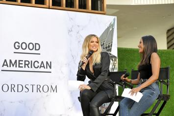 Khloe Kardashian Flaunts Killer Curves On First Public Outing With True
