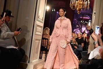 Check Out Some Of The Looks From Rihanna's Fenty X PUMA Runway Show