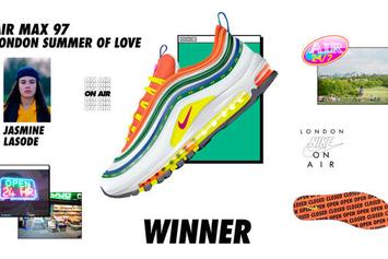 """Nike Announces 6 Winning Sneakers Of """"On Air"""" Contest"""
