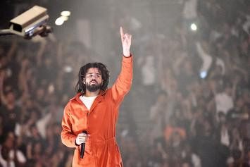 """J. Cole's """"KOD"""" Goes Gold In A Mere 24 Days"""