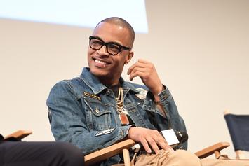 T.I. Released From Jail In Time For His Son Major's Birthday Party