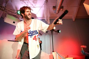 """Lil Dicky Staged Intimate """"Freaky Friday"""" Premiere For Drake & Kanye West"""