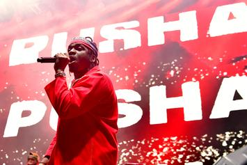 "Pusha T Unveils New Merch To Coincide With ""Daytona"" Drop"